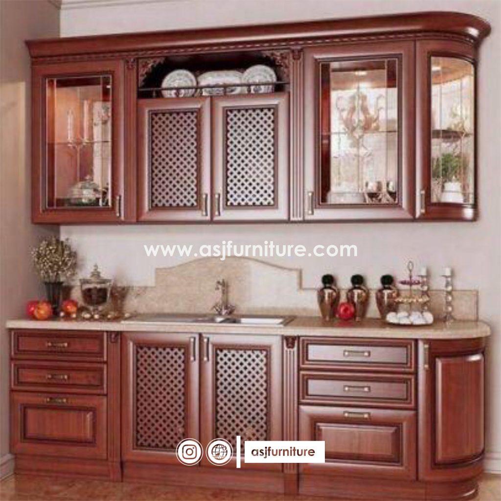 Jasa Pembuatan Kitchen Set Jepara Kayu Jati