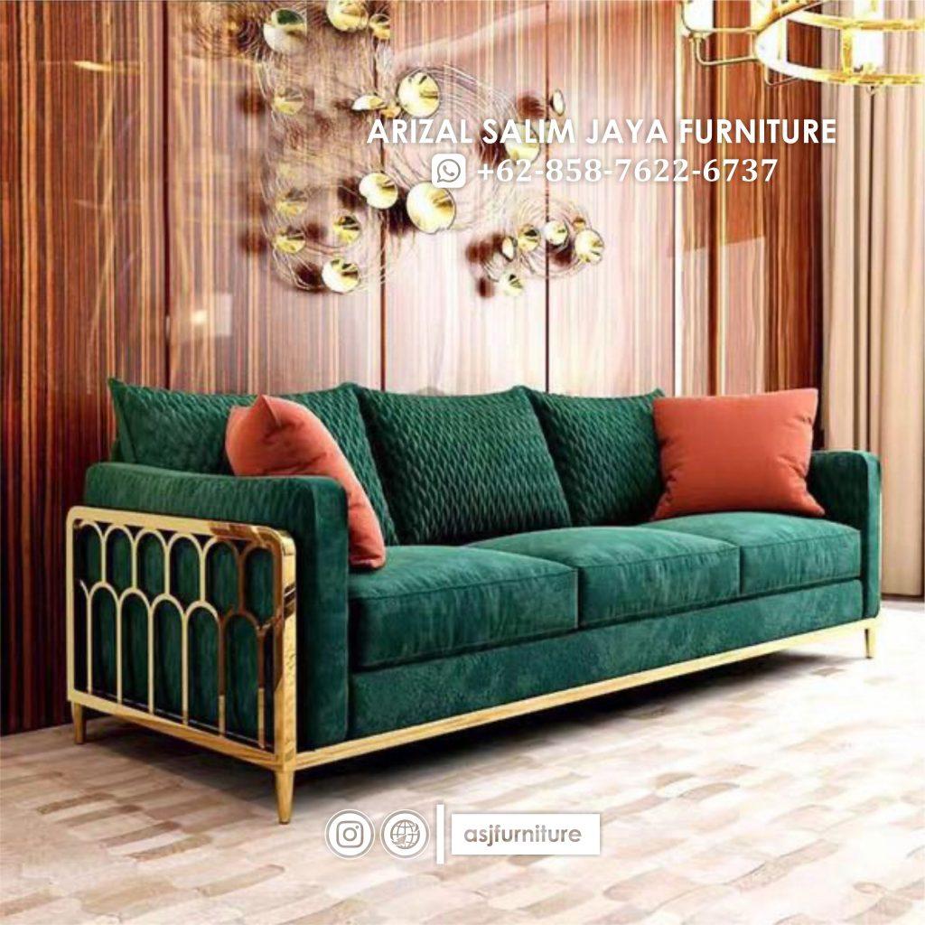 Sofa Kaki Stainless Terbaru