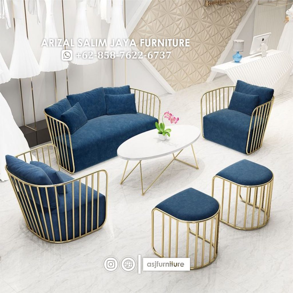 Set Sofa Tamu Kaki Stainless Terbaru