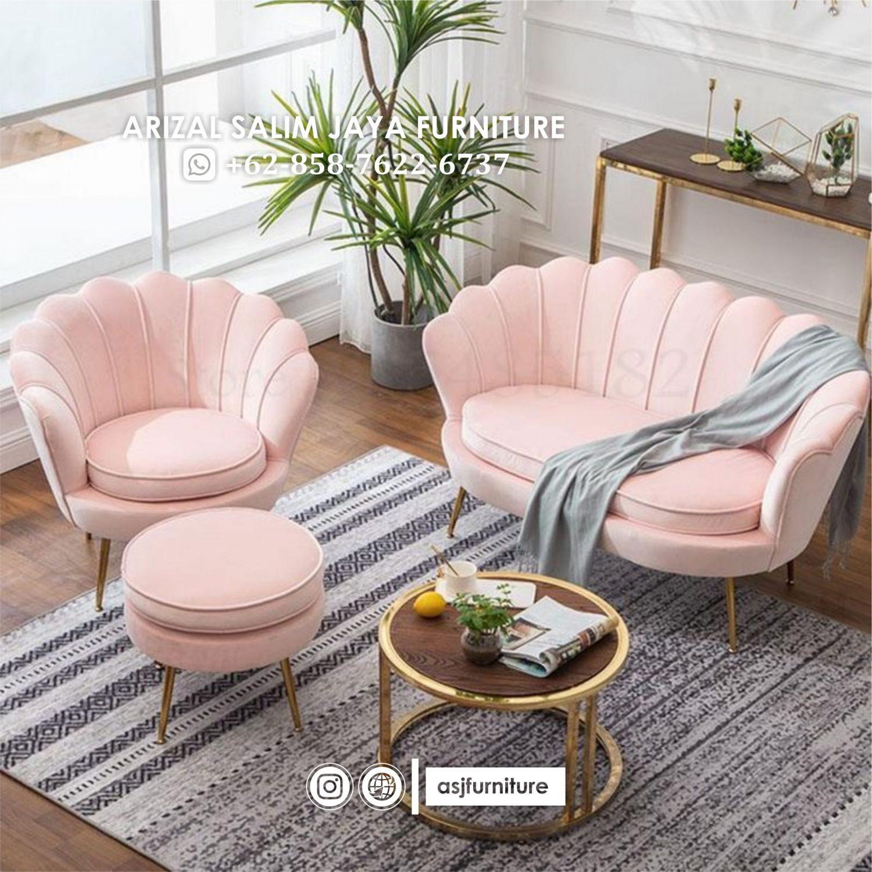 Kursi Sofa Kerang Minimalis