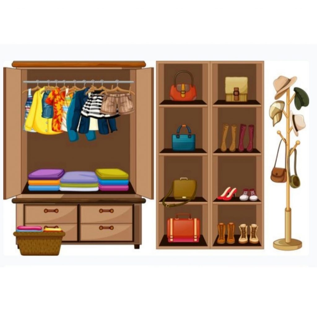 10 model lemari pakaian minimalis