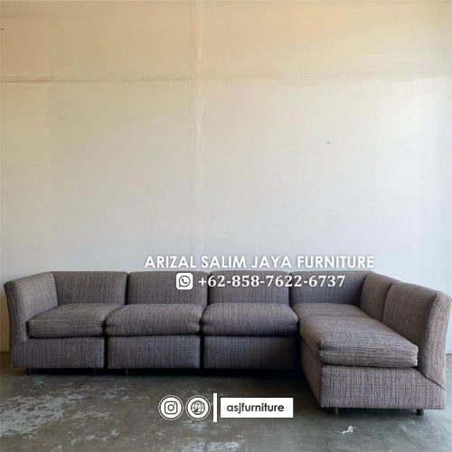 Sofa Tamu L Minimalis
