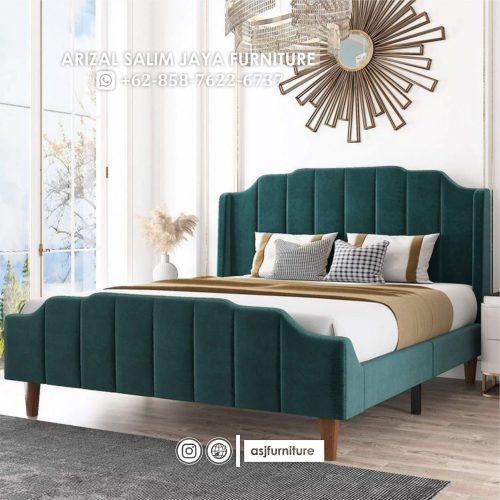Tempat Tidur Minimalis Sandaran Busa