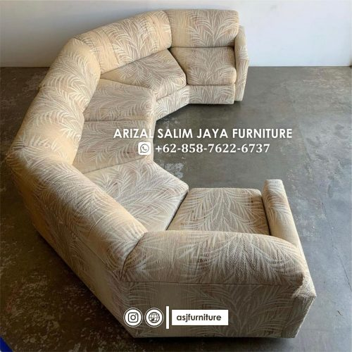 Sofa Tamu Minimalis U
